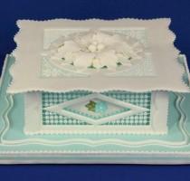 2012 Jan Thorpe Tutors Royal iced cake