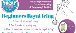 Beginners Royal Icing Workshop Weekend