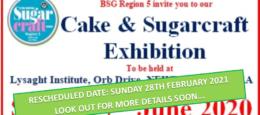 Cake & Sugarcraft Exhibition – Region 5: Wales & The West