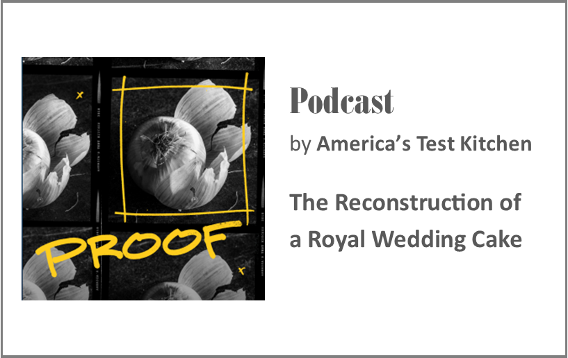 Podcast: The Reconstruction of A Royal Cake