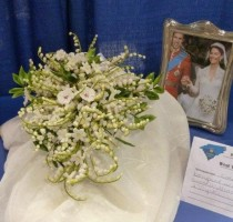 Copy of Kate's Wedding bouquet </br>by Maj Saunders Member of Skipton Branch R2