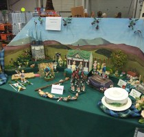 BSG Table from Telford 2012 Exhibition</br>Branch Name To Follow