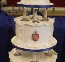 Royal Iced - Eddie Spence MBE 2011 William & Kate Cake