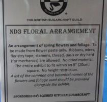 ND3 Class - Floral Arrangement