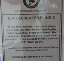 ND4 Class - Decorated Plaque