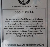 OD5 Class - Floral (Wild Flowers)