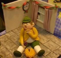 R4 Regional Table Piece for NEC Cake Show </br>Birmingham 2009 - Theme Nursery Rhymes