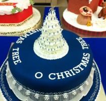 R4 Stephen Littlewood - winning Christmas Cake Dukeries Branch