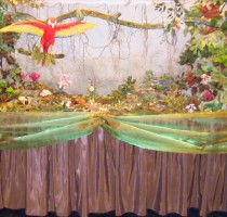 R4 Tropical Rainforest - Birmingham Branch Display for NEC Cake Show 2010