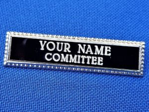 BSG ENGRAVED NAME BADGE