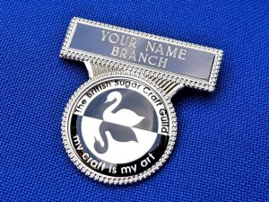BSG ENGRAVED NAME BADGE WITH LOGO