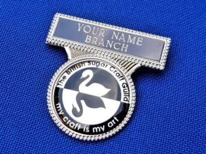 B12 ENGRAVED NAME BADGE WITH LOGO