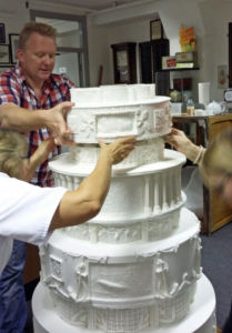 Assembling and stacking the tiers