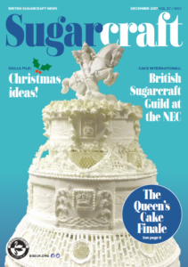 British Sugarcraft News cover: December 2017