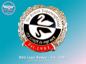 BSG Logo Pin Badge